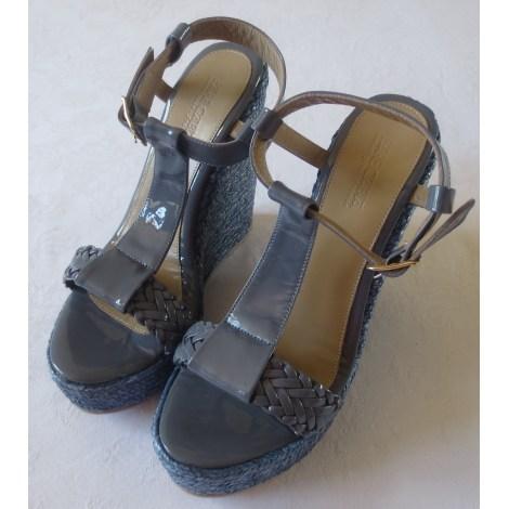 Sandales compensées PARE GABIA Bleu, bleu marine, bleu turquoise