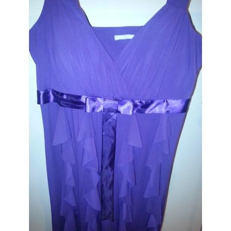 Robe courte 3 SUISSES Violet, mauve, lavande