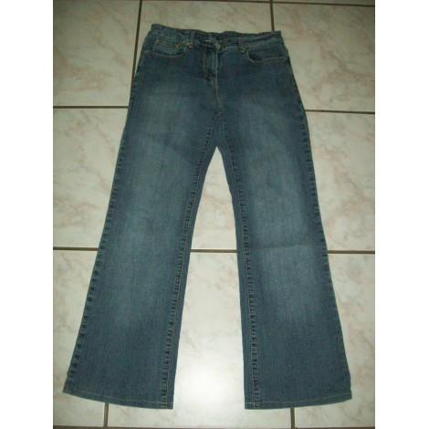 Jeans évasé, boot-cut LA CITY Bleu, bleu marine, bleu turquoise