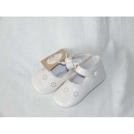 Chaussures à boucle FLORIANE Blanc, blanc cassé, écru