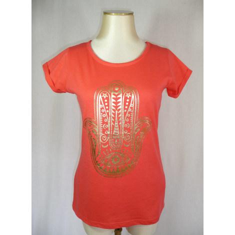 Top, tee-shirt JENNYFER Rouge, bordeaux