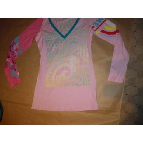 Top, tee-shirt CUSTO BARCELONA Rose, fuschia, vieux rose