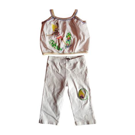Ensemble & Combinaison pantalon SONIA RYKIEL Blanc, blanc cassé, écru