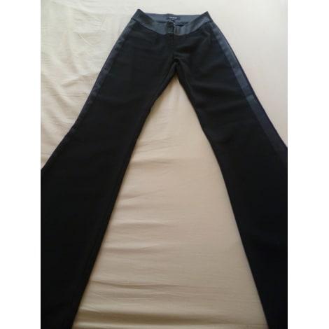 Pantalon évasé FRIPONNE Noir