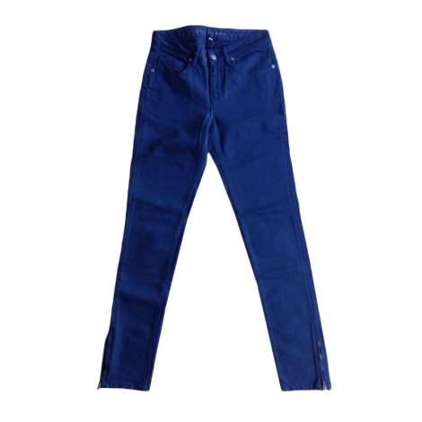 Jeans slim PAUL & JOE SISTER Bleu, bleu marine, bleu turquoise