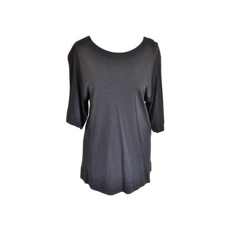 Top, tee-shirt BALENCIAGA Gris, anthracite