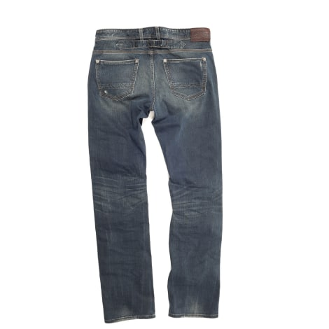 Pantalon droit CHEVIGNON Bleu, bleu marine, bleu turquoise