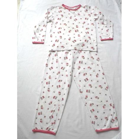 Pyjama EL CORTE INGLÉS Blanc, blanc cassé, écru