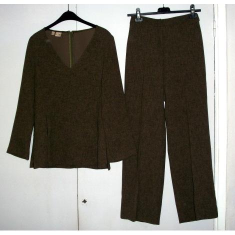 Tailleur pantalon MANGO Vert