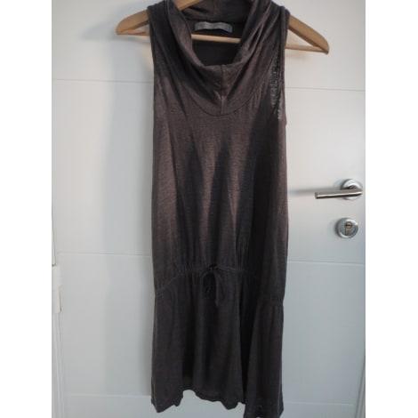 Robe courte ZARA Beige, camel