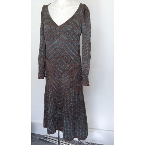 Robe longue ANTIK BATIK Vert