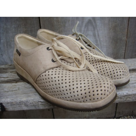 Chaussures à lacets  MEPHISTO Beige, camel