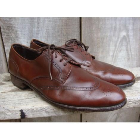 Chaussures à lacets BROOKS BROTHERS acajou