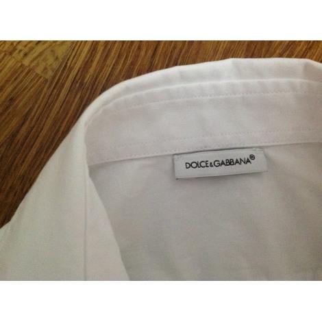 Chemise DOLCE & GABBANA Blanc, blanc cassé, écru