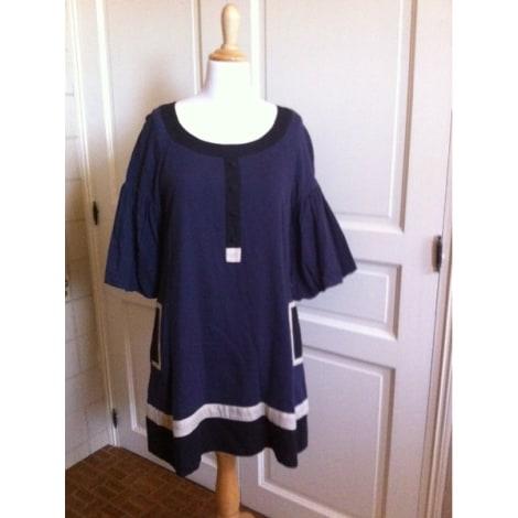 Robe tunique MONOPRIX Bleu, bleu marine, bleu turquoise