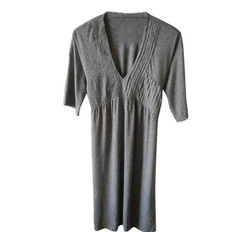 Robe courte SANDRO Gris, anthracite