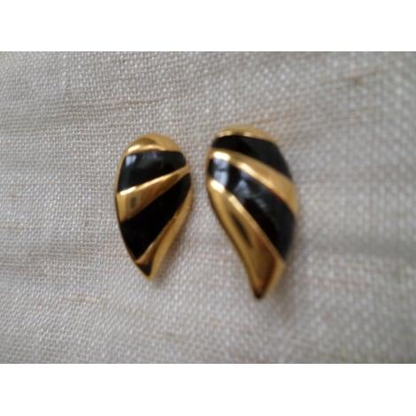 Boucles d'oreille MONET Doré, bronze, cuivre