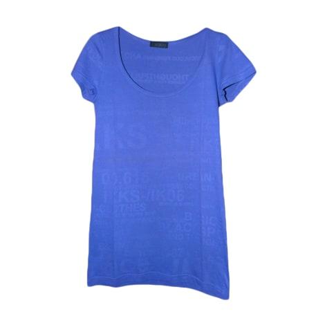 Top, tee-shirt IKKS Violet, mauve, lavande