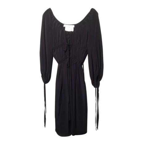 Robe courte ANNE VALÉRIE HASH Noir