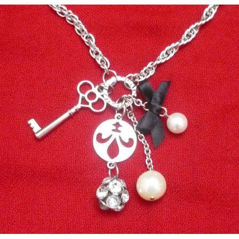 Pendentif, collier pendentif H&M Argenté, acier