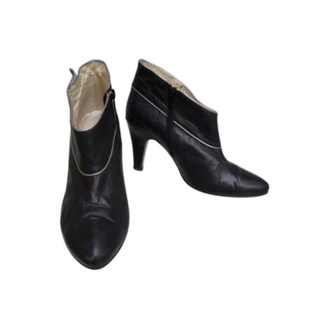 High Heel Ankle Boots GERARD DAREL Black