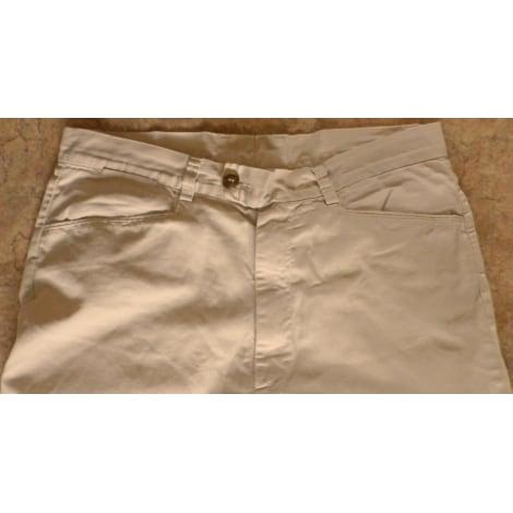 Pantalon droit KENZO crème