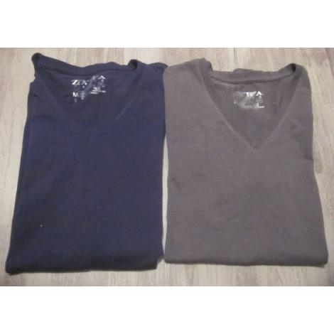 Tee-shirt ZARA Kaki