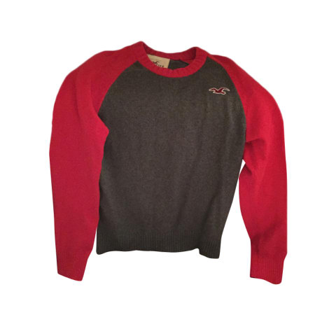 Pull HOLLISTER Gris, anthracite