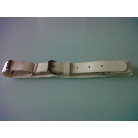 Belt IKKS White, off-white, ecru