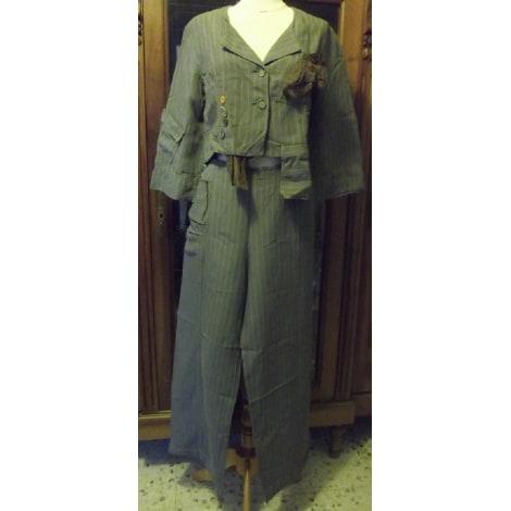 Pantalon large BELLOCOTON Gris, anthracite