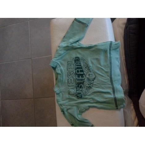 Top, tee shirt DIESEL Vert
