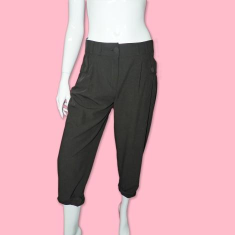 Pantalon carotte MORGAN Noir
