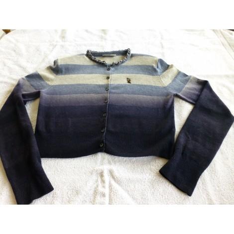 Gilet, cardigan ROBERTA SCARPA Bleu, bleu marine, bleu turquoise