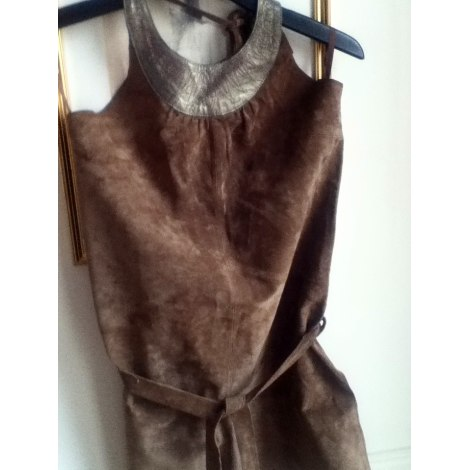 Robe tunique KOOKAI Marron