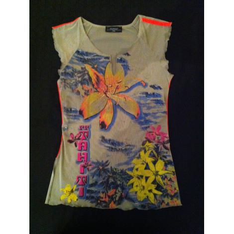 Top, tee-shirt POURQUOI PAS Multicouleur