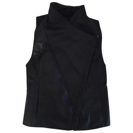 Blouson en cuir BEBE Noir