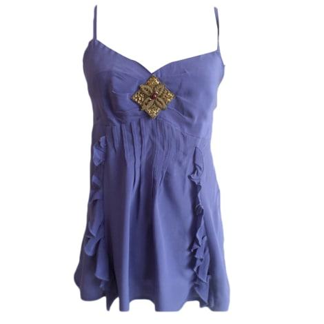 Top, tee-shirt SANDRO Violet, mauve, lavande