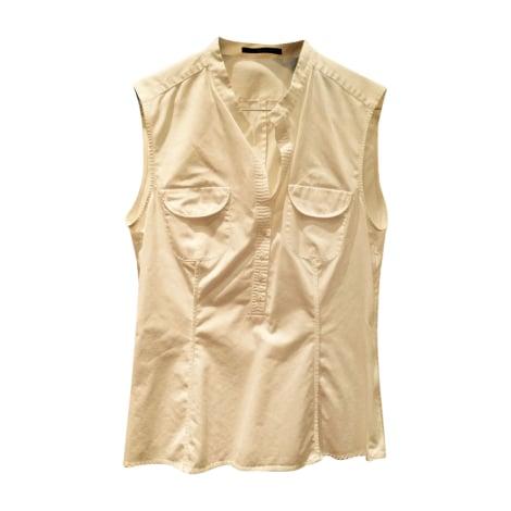 Top, tee-shirt HUGO BOSS Blanc, blanc cassé, écru