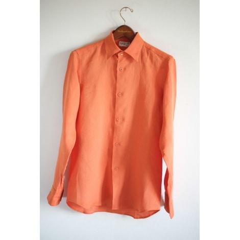 Chemise AGNÈS B. Orange