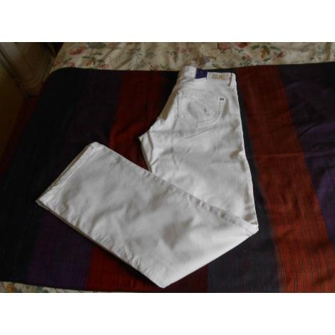 Pantalon droit MEXX Blanc, blanc cassé, écru