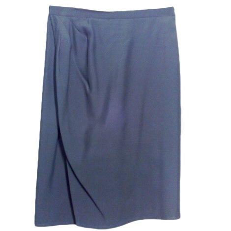 Jupe mi-longue MANI Bleu, bleu marine, bleu turquoise