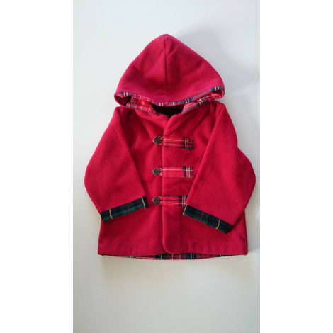 Manteau JACADI Rouge, bordeaux