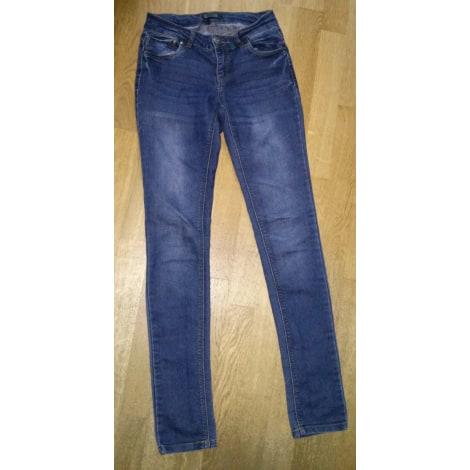 Jeans slim ONLY Bleu, bleu marine, bleu turquoise