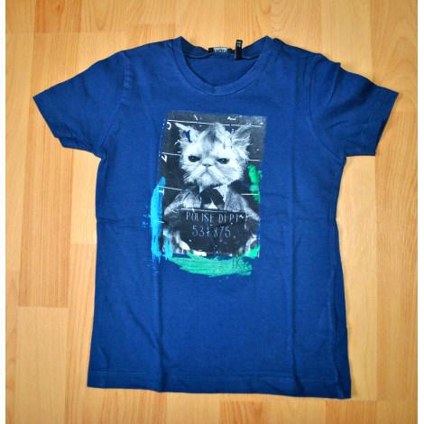 Tee-shirt IKKS Bleu, bleu marine, bleu turquoise