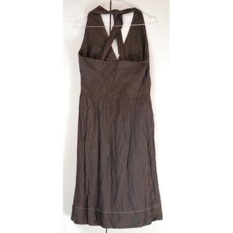 Robe mi-longue CHATTAWAK Marron