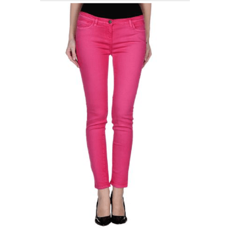 Jeans slim WHO'S WHO Rose, fuschia, vieux rose