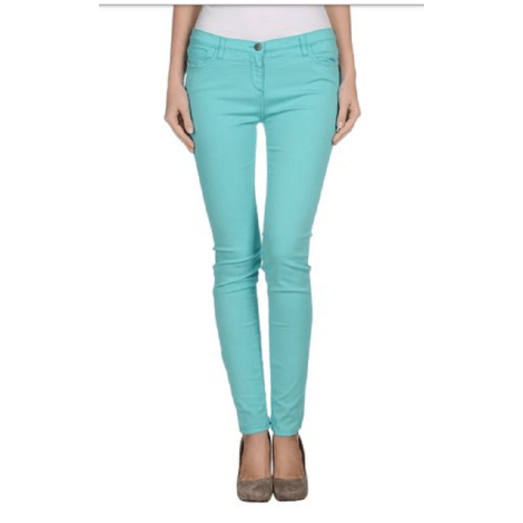 Jeans slim WHO'S WHO Turquoise