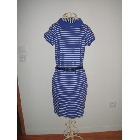 Robe mi-longue U COLLECTION Bleu, bleu marine, bleu turquoise