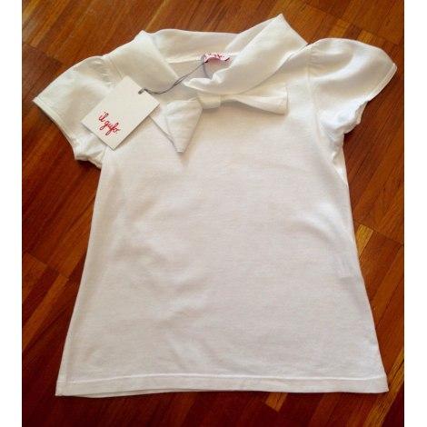 Top, Tee-shirt IL GUFO Blanc, blanc cassé, écru