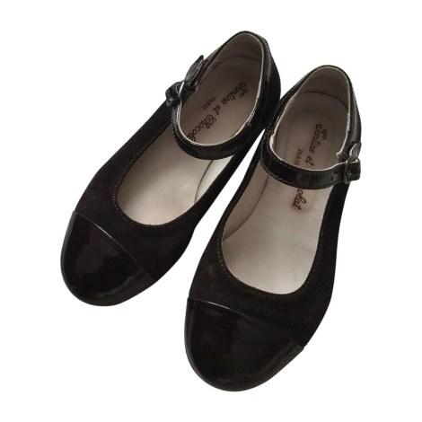 Chaussures à boucle TARTINE ET CHOCOLAT Marron